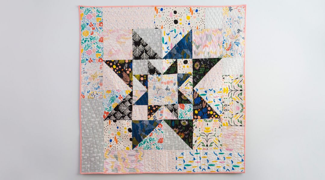 Double Star Quilt By Fancy Tiger Creativebug