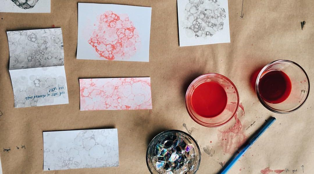 Bubble Prints: 8/23/16