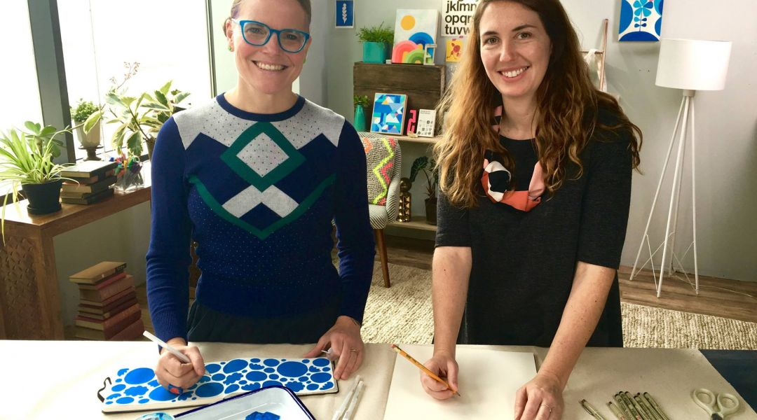 Drawing and Chatting with Lisa Congdon: 9/29/16