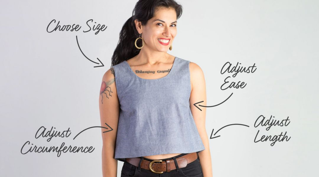 Adjusting Sewing Patterns with Simplicity