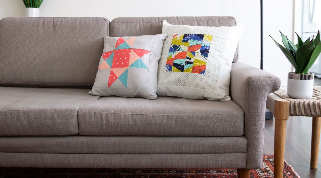 Single Block Projects: Quilt Block Pillow