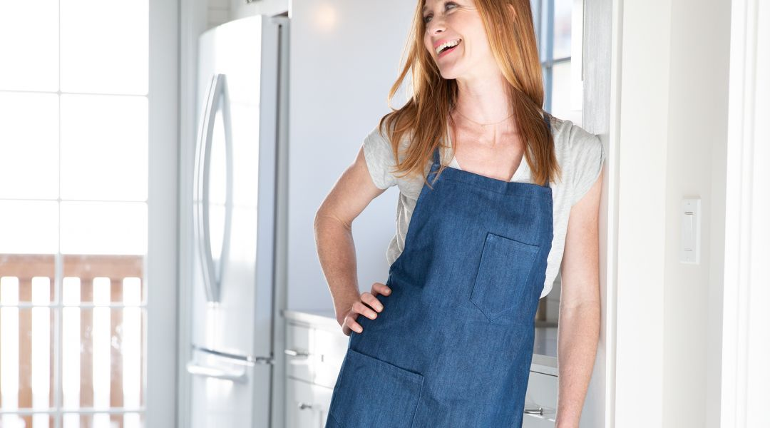 Simplicity Sewing: Classic Denim Apron