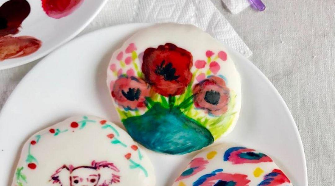 Painted Cookies: 2/9/17