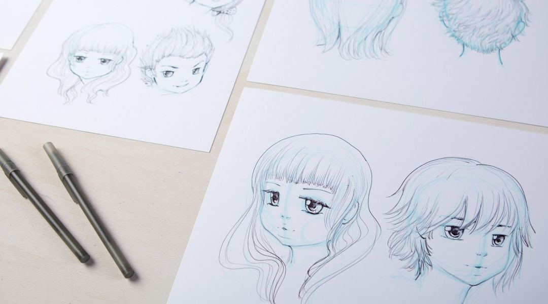 Manga Drawing How To Draw Faces By Camilla DErrico
