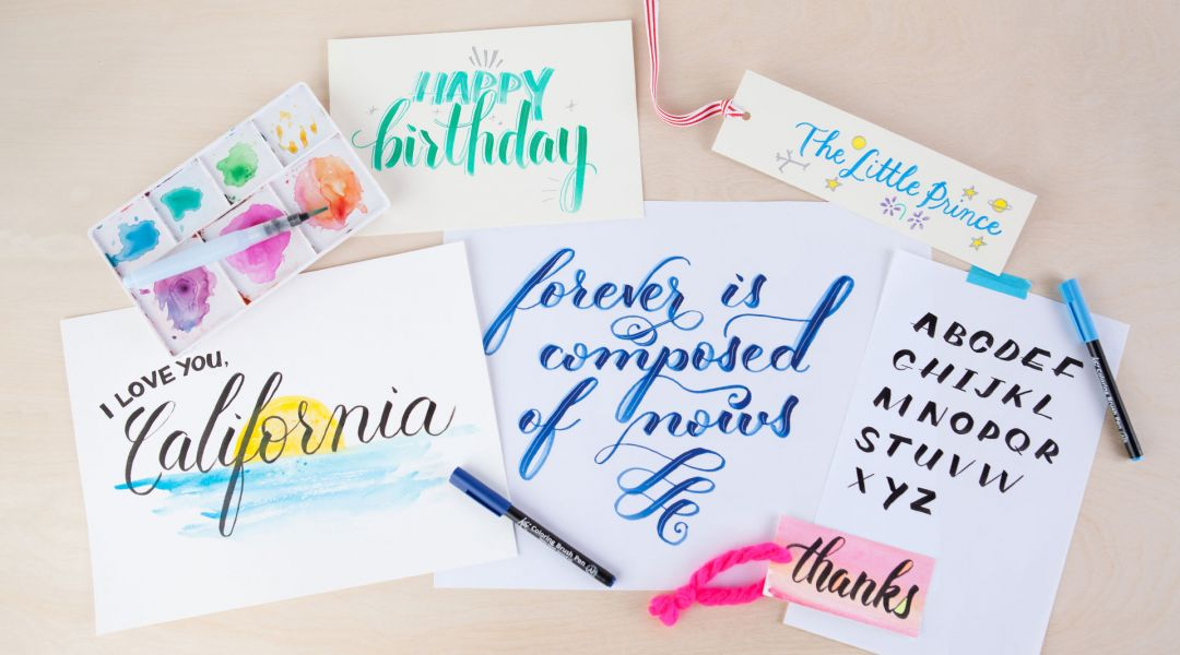 Daily Lettering Challenge: 30 Days of Lettering with Sakura