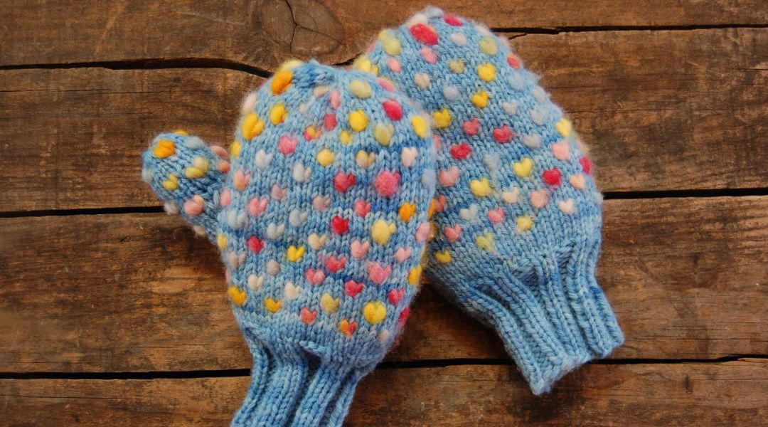 Chop Wood Carry Water Mittens