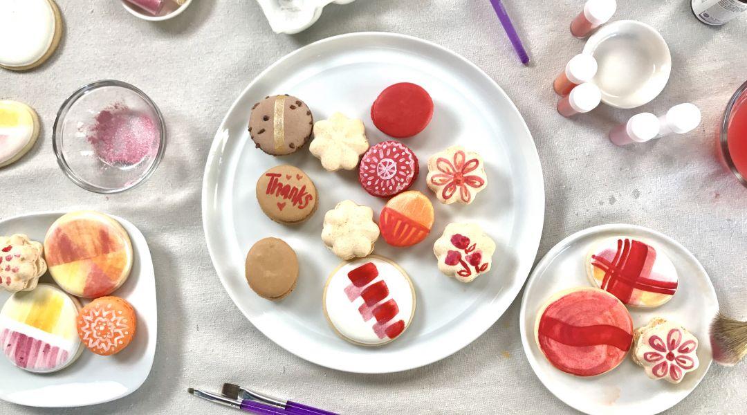 Painting on Cookies: 7/13/17