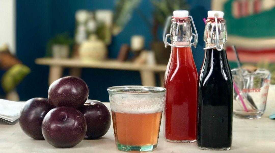 Summer Shrub Drinking Vinegar: 8/8/17