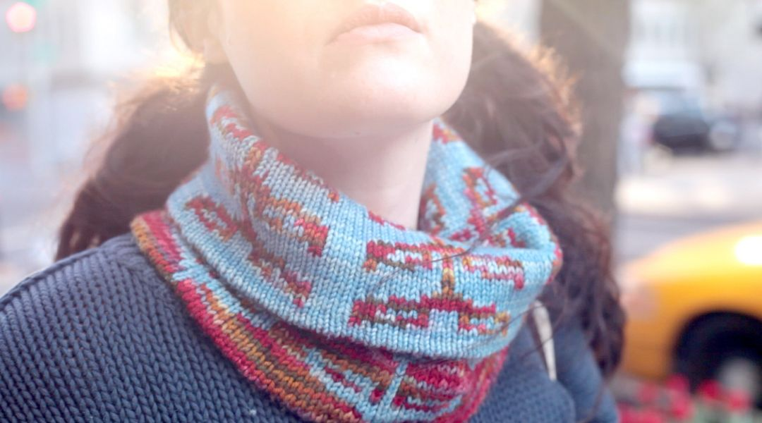Intro to Double Knitting: Sprout Cowl