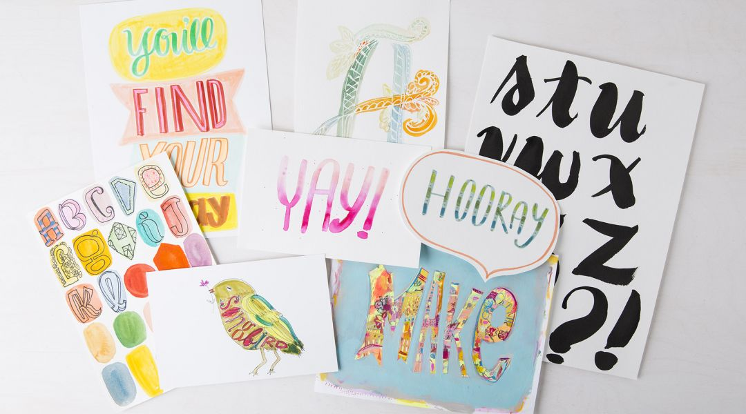 Daily Lettering Challenge: 31 Creative Lettering Ideas with Pam Garrison