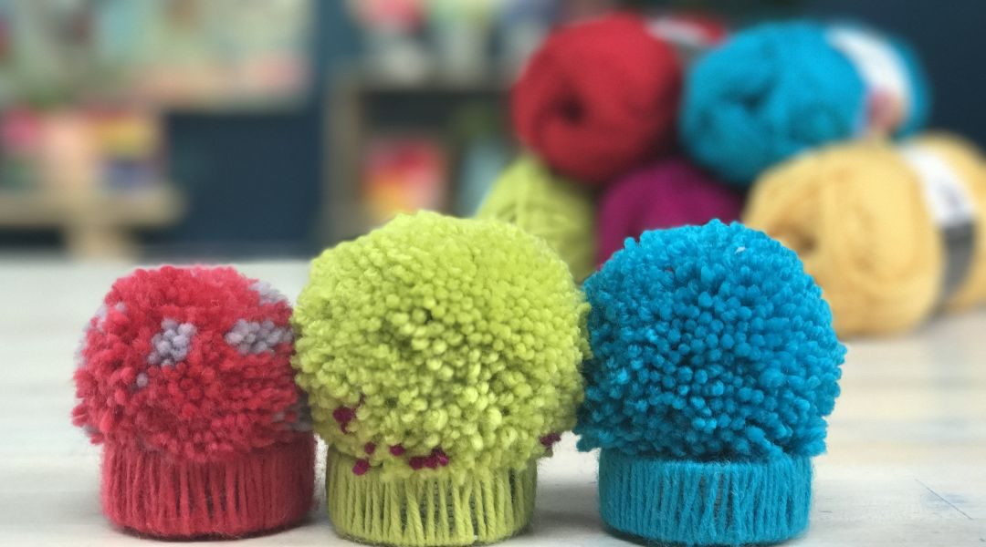 Pom Pom Pattern Weights: 9/12/17