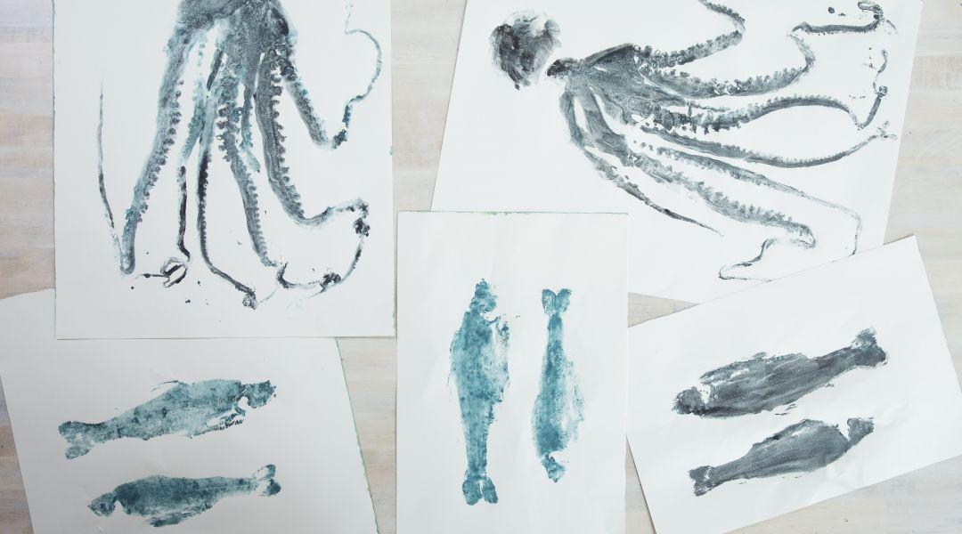 Fish Prints: 9/21/17