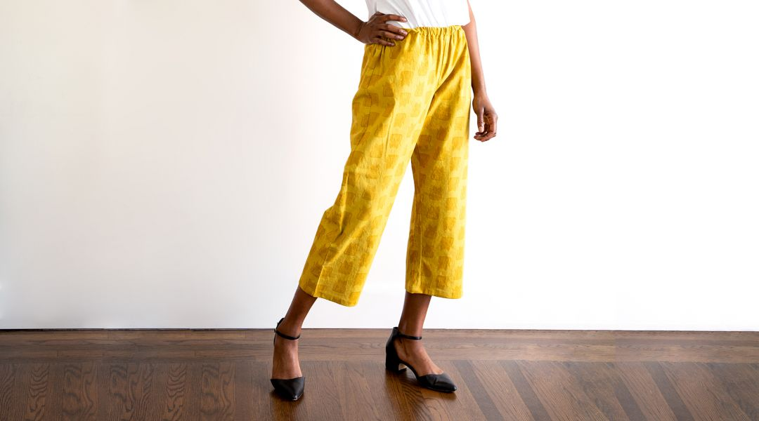 Wardrobe Basics: Sewing Pants No. 1