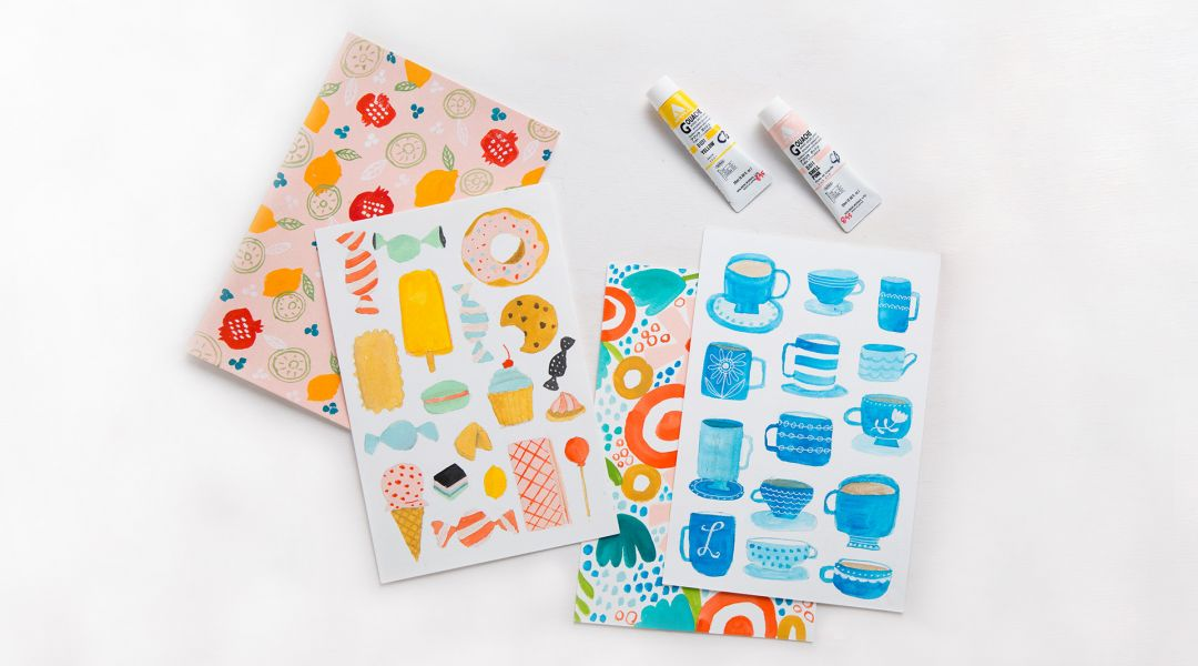 Daily Painting Challenge: 31 Painted Patterns with Lisa Congdon