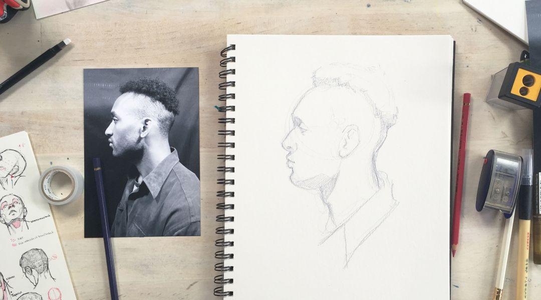 Drawing Anatomy: 2/22/18