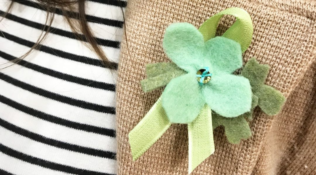 Four-Leaf Clover Boutonnieres: 3/13/18