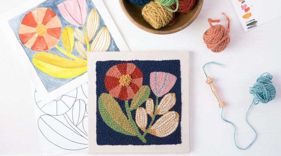Punch Needle Embroidery Workshop By Bookhou Creativebug
