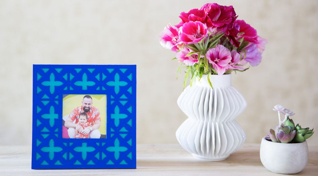 Cricut Crafts: Carved Wood Frame