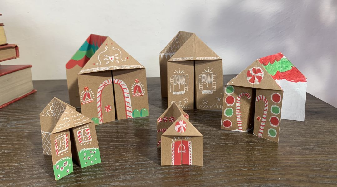 Paper Holiday Village: 12/13/18