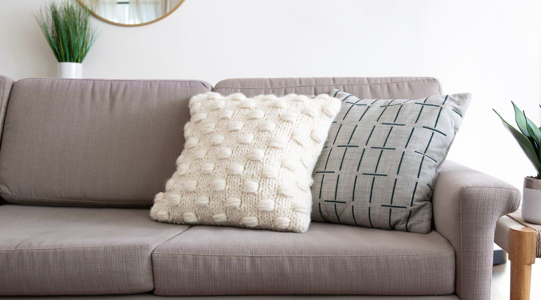 Knit the Impossible Dreamer Cushion