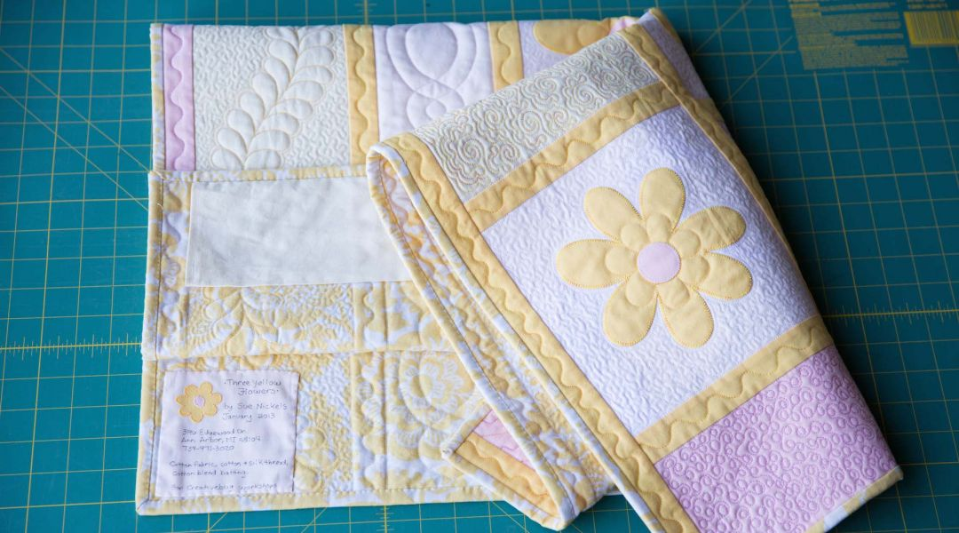 Quilt Finishing and Binding