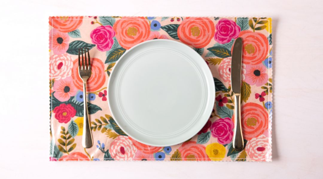 Oilcloth Placemats: 7/4/19
