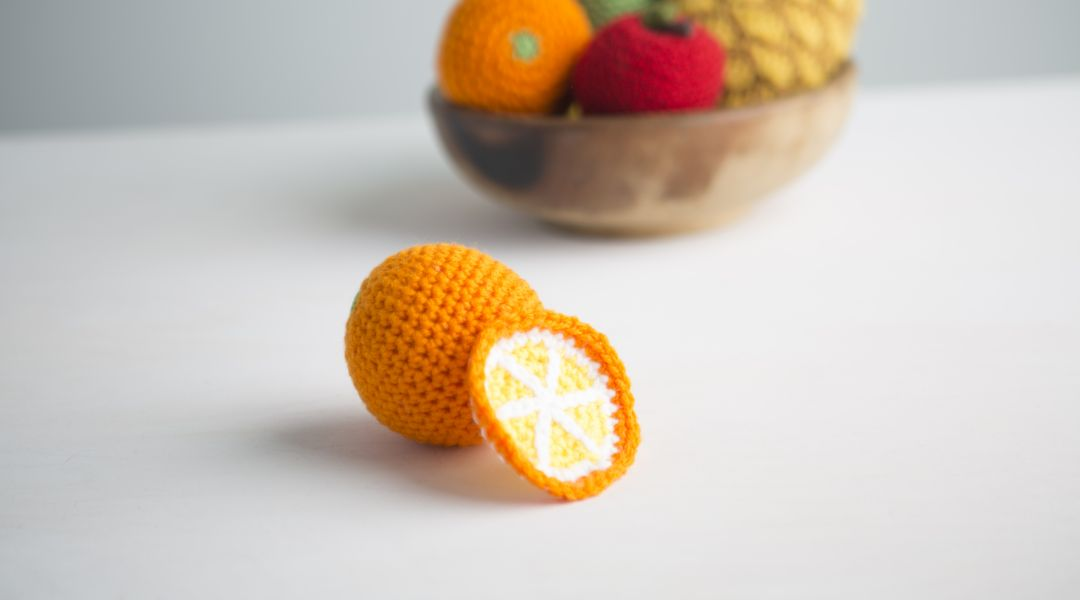 Eat Your Fruits & Veggies Crochet-Along: Orange and Slice