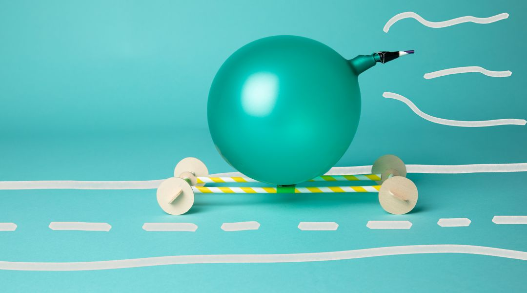 STEAM: Make Balloon Propelled Vehicles