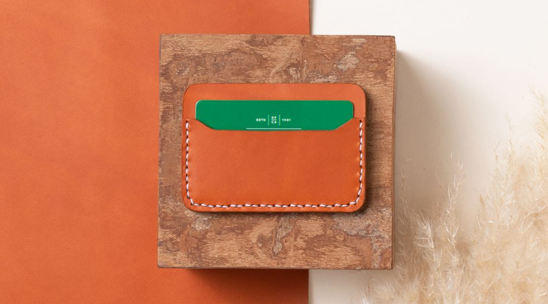 Make a Leather Card Wallet