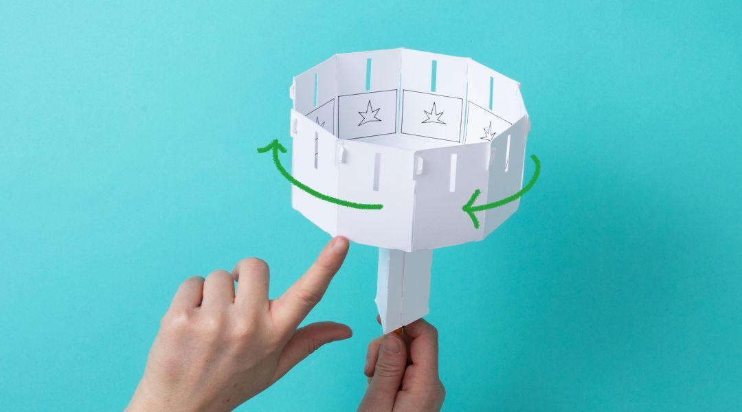 STEAM: Make a Paper Zoetrope