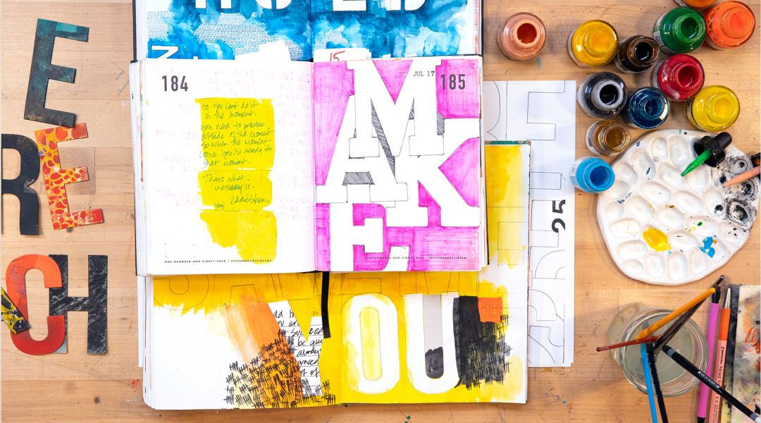 Words Inform Images: 31 Prompts Using Writing as Inspiration for Art