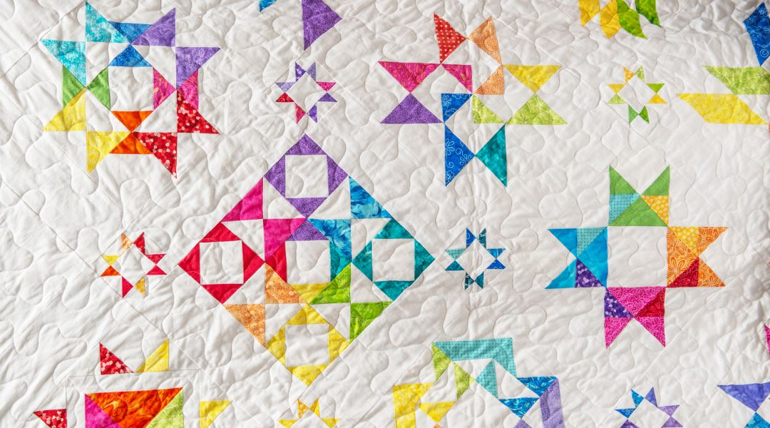 Lucky Star Quilt Along with Keaton Quilts
