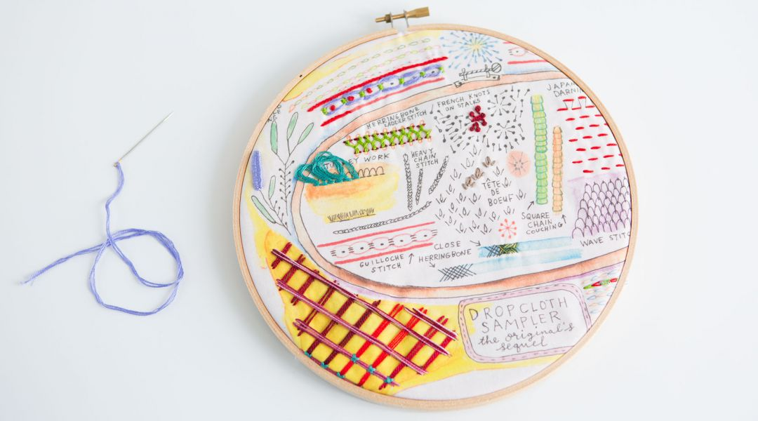 Advanced Embroidery Sampler By Rebecca Ringquist Creativebug