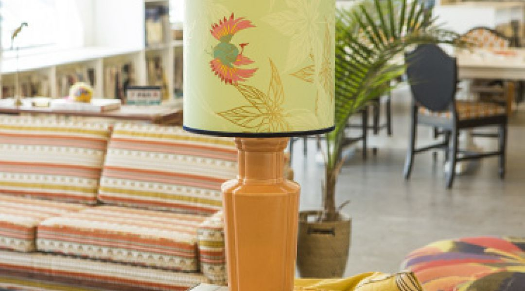 Wallpaper Lampshade By Amanda Brown Creativebug