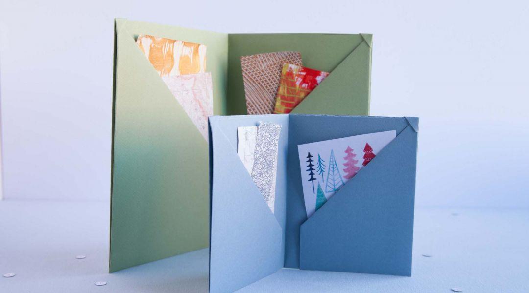Six Pocket Keepsake Book
