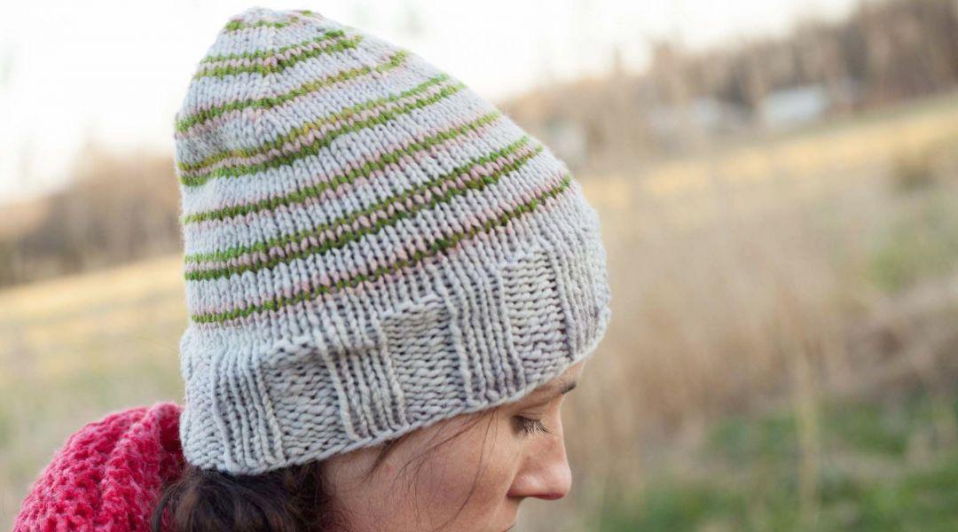 Knitting On The Round Hat : Finger knitting creativebug