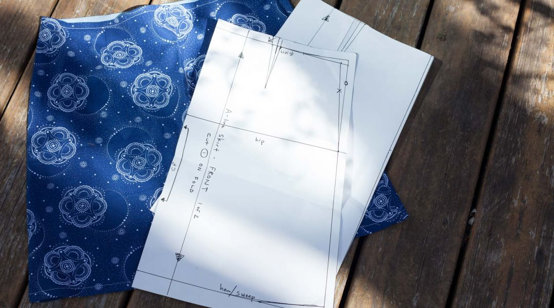 Patternmaking Simplified: A-Line Skirt by Cal Patch - Creativebug