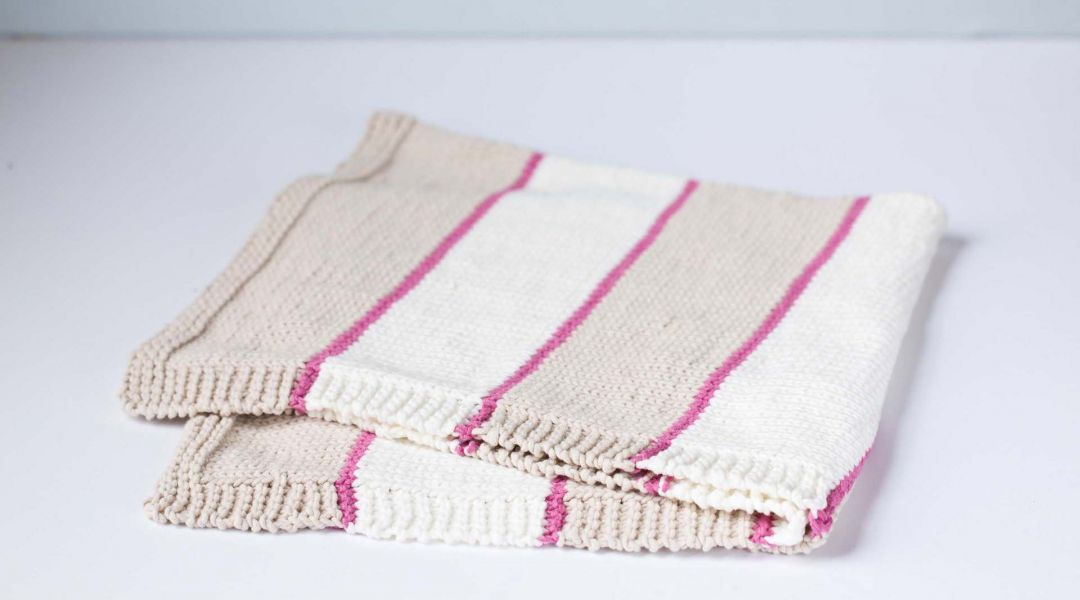 Beginner Knits: How to Knit a Baby Blanket by Maggie Pace - Creativebug