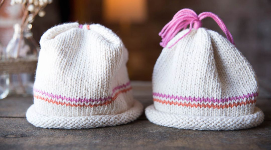 Beginner Knits  How to Knit a Baby Hat by Maggie Pace - Creativebug bc03b63262fd