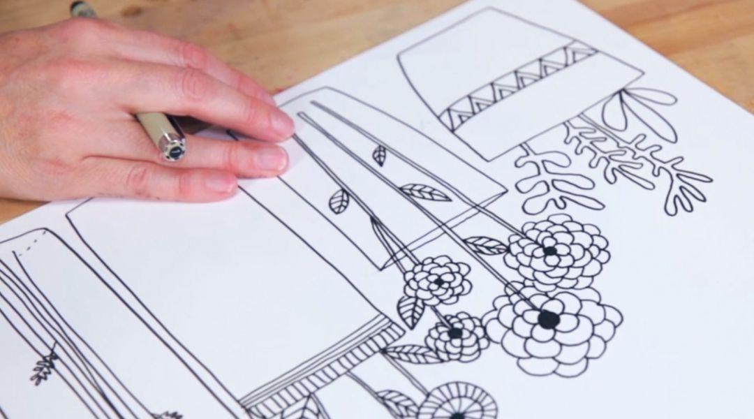Basic Line Drawing By Lisa Congdon