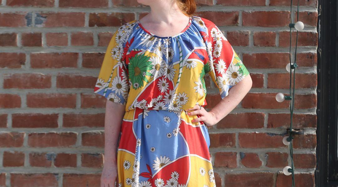 Upcycling: Turn a Muumuu Into a Cute Dress