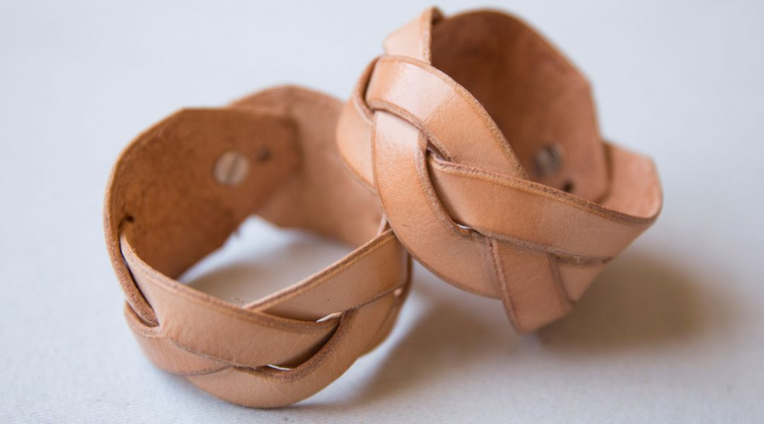 Make A Magic Braid Leather Bracelet By Elke Bergeron