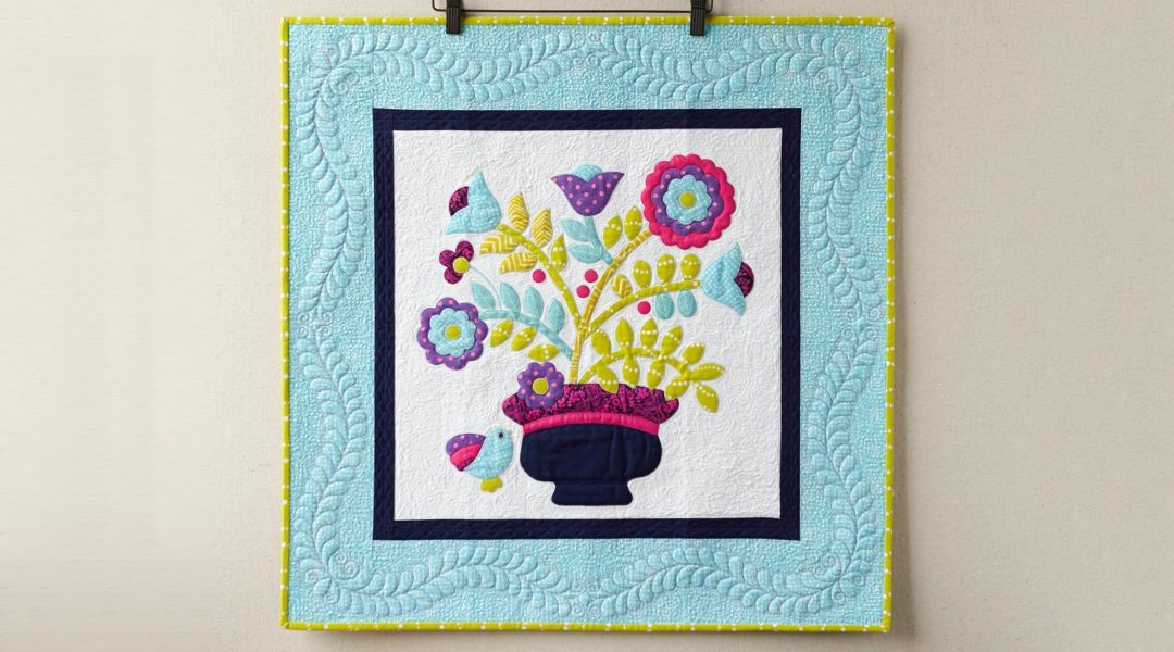 Learn Raw Edge Appliqué Quilting