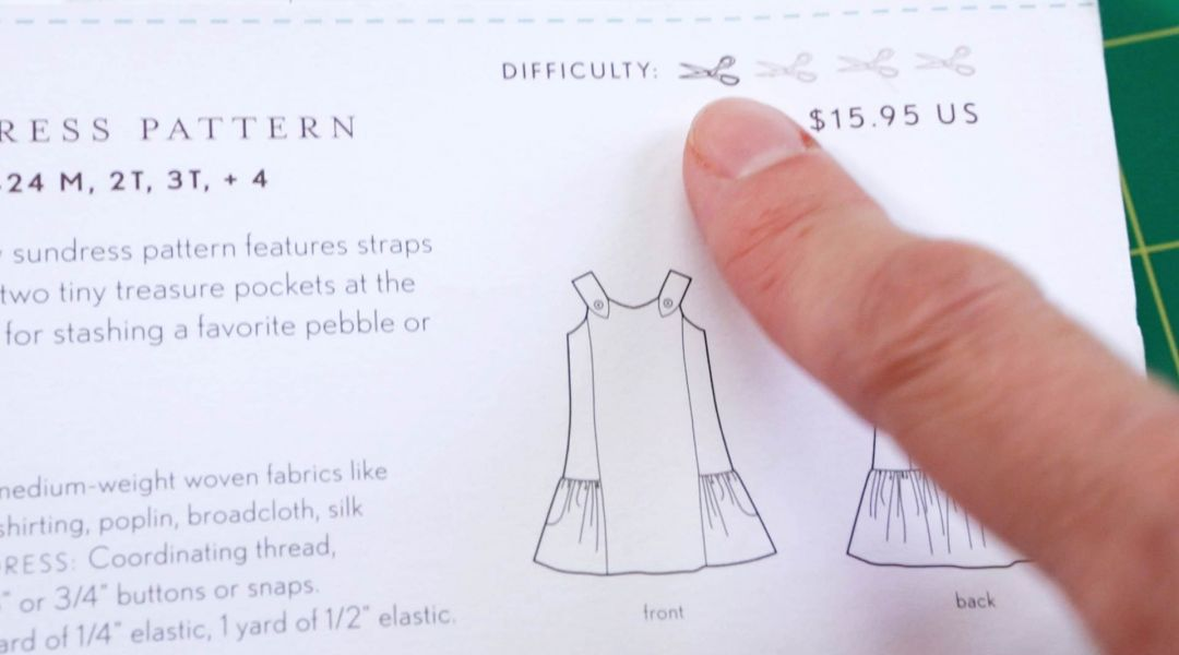 How to Read a Sewing Pattern