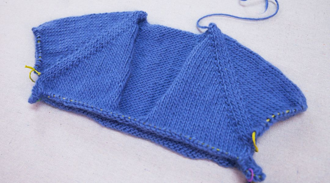 Knitting Sweaters From The Top Down : Top down sweater knitting by wendy bernard creativebug