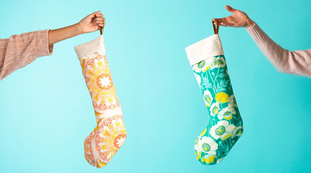 Sew Modern Christmas Stockings