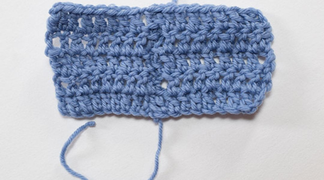 How to Seam Crocheted Fabric