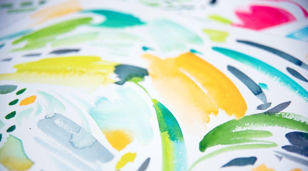 beginning watercolor by yao cheng creativebug