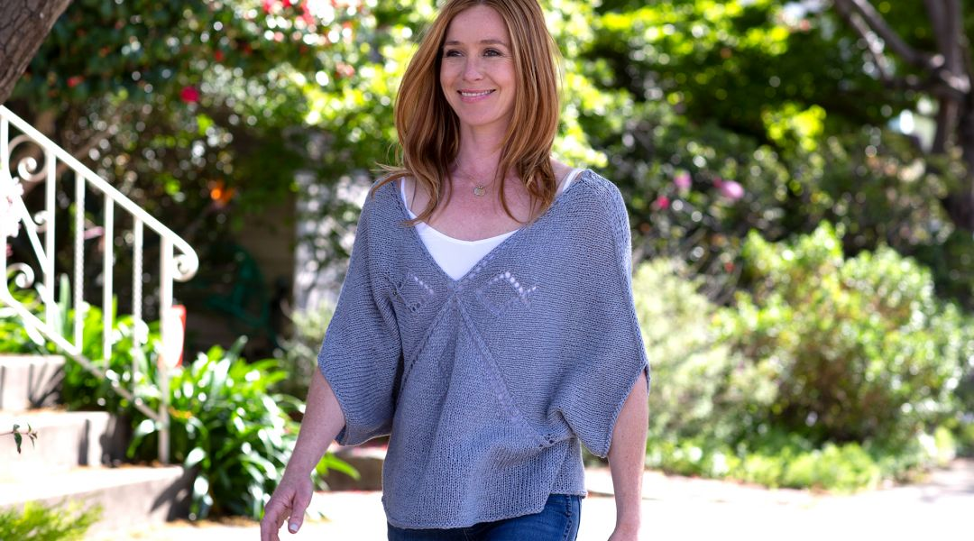Knit a Seamless Pullover