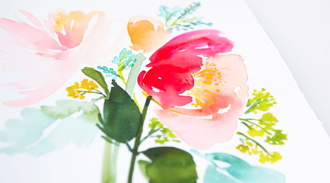 Intermediate Watercolor: Painting Florals